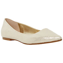 Buy Dune Amarie Pointy Reptile Pumps Online at johnlewis.com