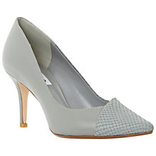 Buy Dune Aleni Pointed Court Shoes, Grey Online at johnlewis.com