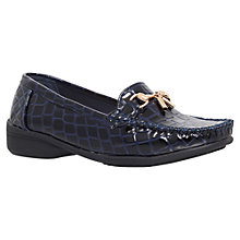 Buy Carvela Lance Croc Print Loafers Online at johnlewis.com