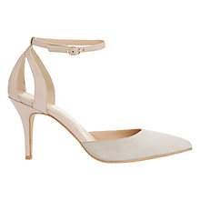 Buy Mint Velvet Alexa Leather Ankle Strap Court Shoes, Nude Online at johnlewis.com