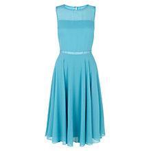 Buy Hobbs Abigale Dress, Kingfisher Online at johnlewis.com