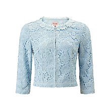 Buy Phase Eight Posy Lace Jacket, Mist Online at johnlewis.com