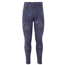 Buy Kin by John Lewis Girls' Print Leggings, Blue Online at johnlewis.com