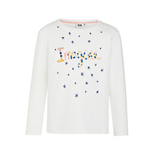 Buy Kin by John Lewis Girls' Imagine Sweat Top, White Online at johnlewis.com