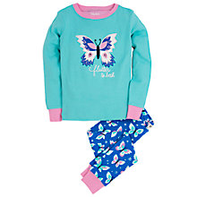 Buy Hatley Girls' Butterfly Long Sleeve Pyjama Set Online at johnlewis.com