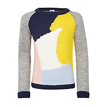 Buy Kin by John Lewis Paintbrush Knit Jumper, Multi Online at johnlewis.com