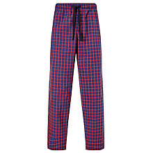 Buy John Lewis Alli Oxford Check Lounge Pants, Red/Blue Online at johnlewis.com