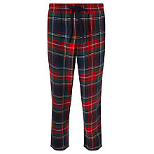 Buy John Lewis Brushed Tartan Check Cotton Pants Online at johnlewis.com