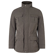 Buy John Lewis Carbon Cotton Four Pocket Jacket, Grey Online at johnlewis.com