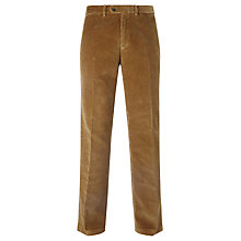 Buy John Lewis Laundered Cotton Corduroy Trousers, Camel Online at johnlewis.com