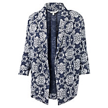 Buy Fat Face Callington Floral Jacket, Indigo Online at johnlewis.com