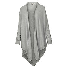Buy Fat Face Waterfall Cardigan, Grey Online at johnlewis.com