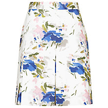 Buy Reiss Sitara Printed Cotton Skirt, Multi Online at johnlewis.com