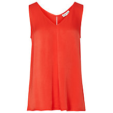 Buy Reiss Kara Tank Top, Pomegranate Online at johnlewis.com