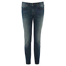 Buy Karen Millen Mid Wash Skinny Jeans, Denim Online at johnlewis.com