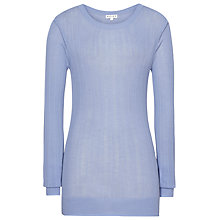 Buy Reiss Anais Jumper, Antique Blue Online at johnlewis.com