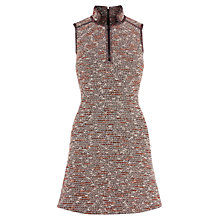 Buy Karen Millen Neon Tweed Dress, Multi Online at johnlewis.com