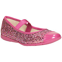 Buy Clarks Mary Jane Glittery Shoes Online at johnlewis.com