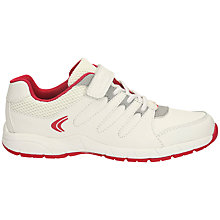 Buy Clarks Cross Dart Trainers, White Online at johnlewis.com