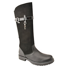 Buy Start-Rite Aqua Feline Leather Boots, Black Online at johnlewis.com