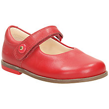 Buy Clarks Bonnie Boo Shoes, Red Online at johnlewis.com
