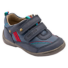 Buy Start-rite Super Soft Leo Shoes, Navy Online at johnlewis.com