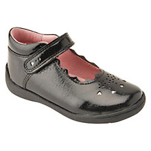Buy Start-rite Super Soft Tiara Leather Shoes, Black Patent Online at johnlewis.com