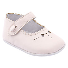 Buy Start-Rite Baby Elizabeth Leather Shoes, Pink Online at johnlewis.com