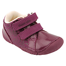 Buy Start-rite Baby Milan Patent Shoes, Berry Online at johnlewis.com