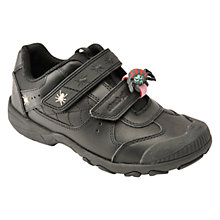 Buy Start-rite Tarantula Leather School Shoes, Black Online at johnlewis.com