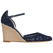 Buy L.K. Bennett Carina Espadrille Wedge Sandals Online at johnlewis.com