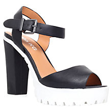 Buy Miss KG Panther Block Heel Cleated Sole Sandals Online at johnlewis.com