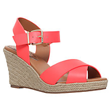 Buy Miss KG Pineapple Wedge Heeled Sandals Online at johnlewis.com