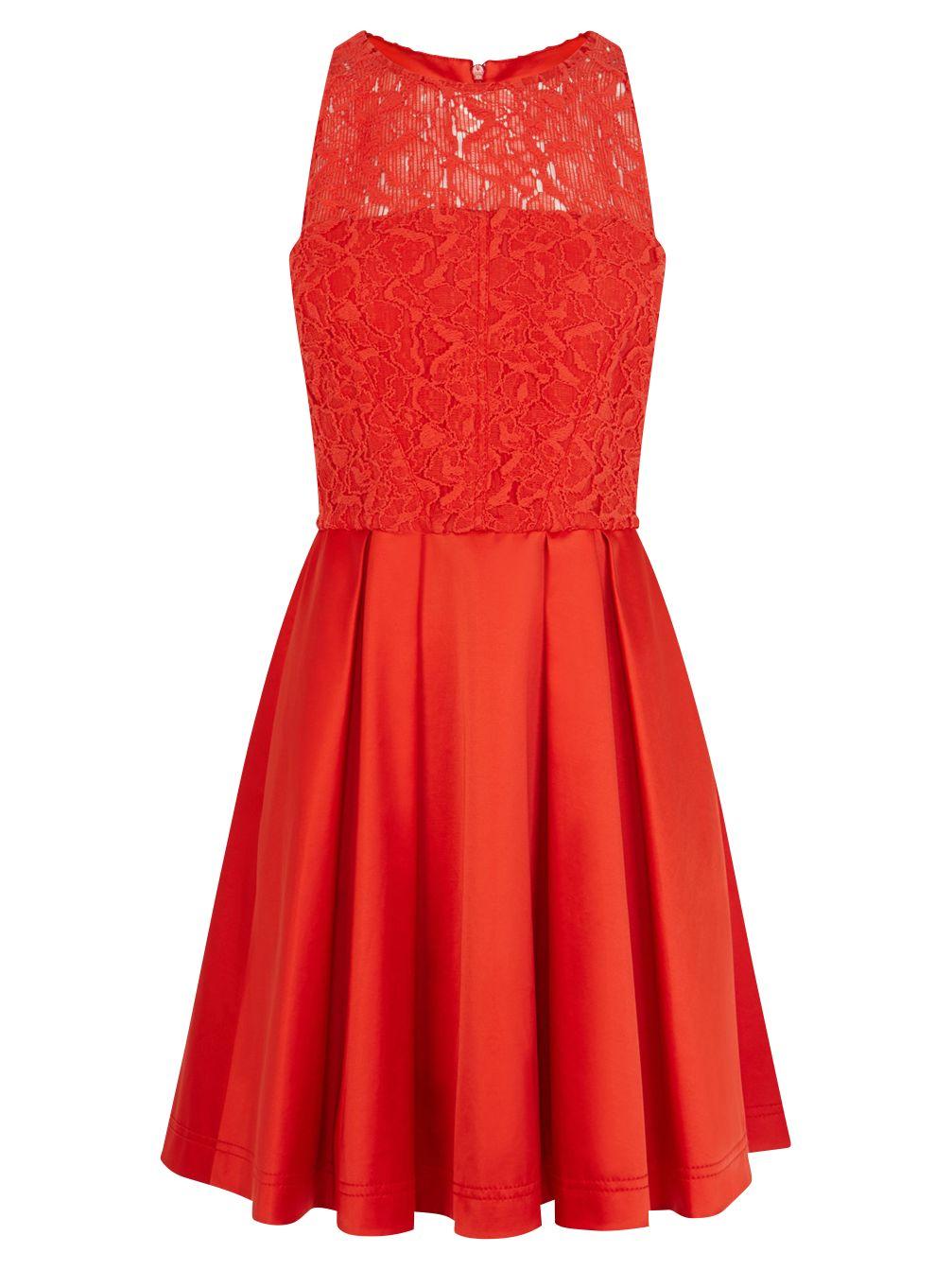 karen millen lace prom dress red, karen, millen, lace, prom, dress, red, karen millen, 14|8|10|12|16|6, women, womens dresses, gifts, wedding, wedding clothing, female guests, 1895099