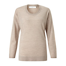 Buy John Lewis Merino Scoop Neck Jumper Online at johnlewis.com