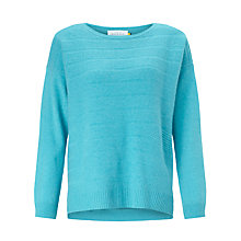 Buy Collection WEEKEND by John Lewis Textured Stripe Cashmere Jumper Online at johnlewis.com
