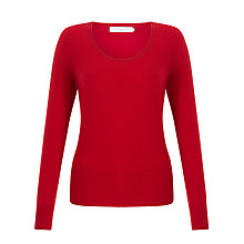 Buy John Lewis Cashmere Scoop Neck Jumper Online at johnlewis.com