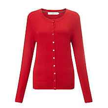 Buy John Lewis Crew Neck Mini Button Cardigan Online at johnlewis.com