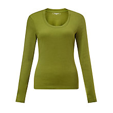 Buy John Lewis Double Trim Long Sleeve T-Shirt Online at johnlewis.com