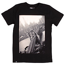 Buy Dedicated Brooklyn Bridge Graphic Print T-Shirt, Black Online at johnlewis.com