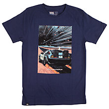 Buy Dedicated Future is Here T-Shirt, Navy Online at johnlewis.com