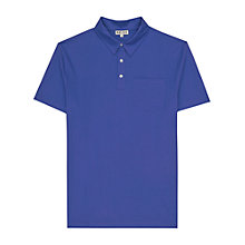 Buy Reiss Watkins Pocket Polo Shirt, Blue Online at johnlewis.com