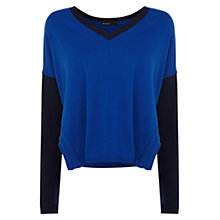 Buy Karen Millen Oversize Colourblock Knit Jumper Online at johnlewis.com