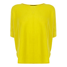 Buy Karen Millen Pod Knit Jumper, Yellow Online at johnlewis.com