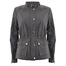 Buy Mint Velvet Waxed Jacket, Khaki Online at johnlewis.com