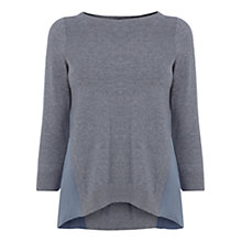 Buy Karen Millen Silk Side Jumper Online at johnlewis.com