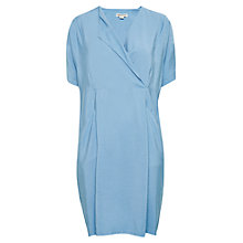 Buy Whistles Louisa Sack Dress, Blue Online at johnlewis.com