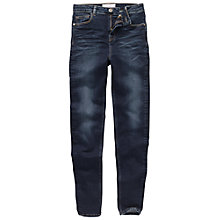 Buy Fat Face High Rise Super Skinny Jeans, Smoky Ink Online at johnlewis.com