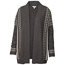 Buy Fat Face Maplewell Cardigan, Grey Marl Online at johnlewis.com