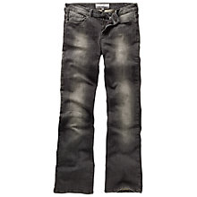Buy Fat Face Smithy Bootcut Marble Jeans, Grey Online at johnlewis.com